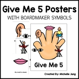 Give Me 5 (Boardmaker Symbols)