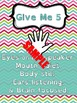 Give Me 5 & Classroom Poster Templates