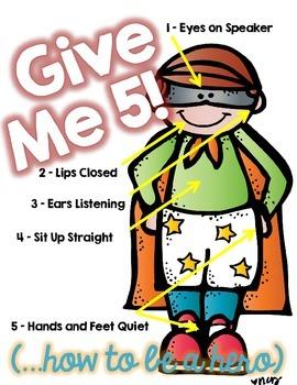 Give Me 5 (Superhero Edition)