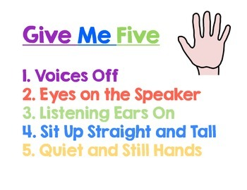 Give Me 5 Poster