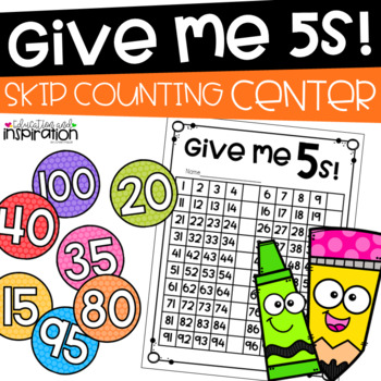 Give Me 5s! Math Center by Education and Inspiration