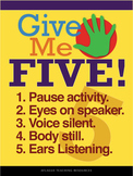 Give Me Five - 18x24 Digital Poster Download