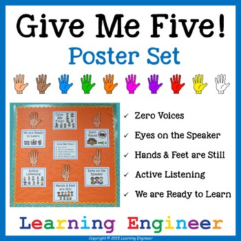 Give Me Five Posters