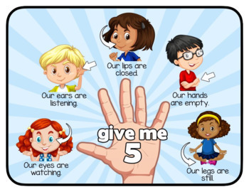 Give Me Five | Attention Signal | Classroom Management