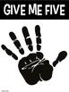 Give Me Five Behavior Management Posters