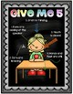 Give Me Five Classroom Management Poster Set Chalkboard Theme