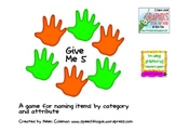 Give Me Five:  Naming items by category and attribute