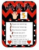 Give Me Five Poster