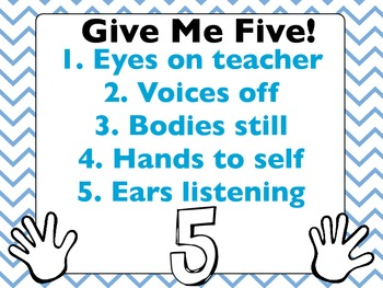 Give Me Five! Poster