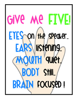 Give Me Five - Poster