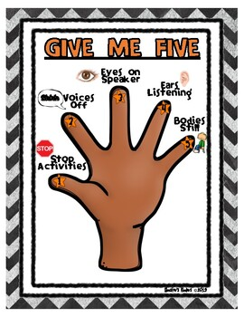Give Me Five Poster / Give Me 5 Poster - With Pictures