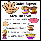 Give Me Five Quiet Signal