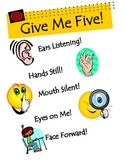 Give Me Five Reminder Poster