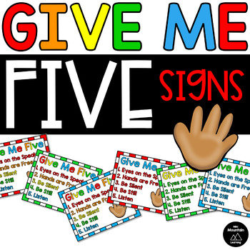 Give Me Five Sign