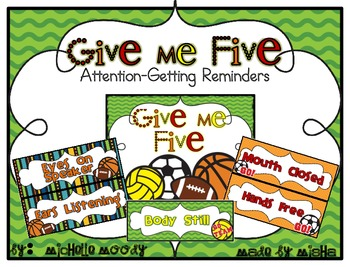 Give Me Five - Sports