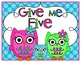 Give Me Five - Owl Theme