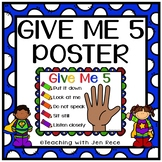 Free Downloads - Give Me Five poster