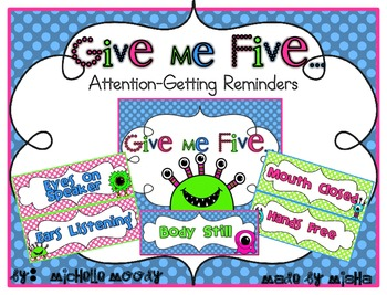 Give Me Five - Monsters