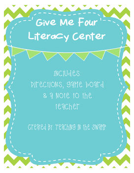 Give Me Four Literacy Center