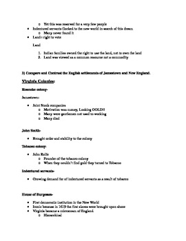 Give Me Liberty an American History: Chapter 2 Questions & Teacher Notes
