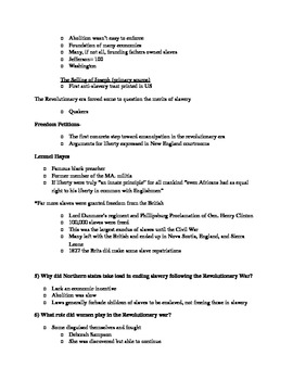 Give Me Liberty an American History: Chapter 6 Questions & Teacher Notes