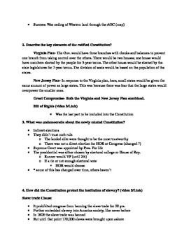 Give Me Liberty an American History: Chapter 7 Questions & Teacher Notes