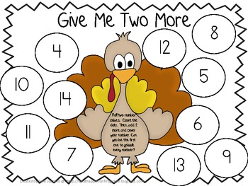 Give Me Two More: Math Game