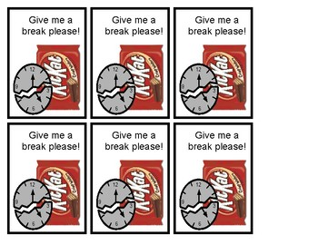Give Me a Break! Cards