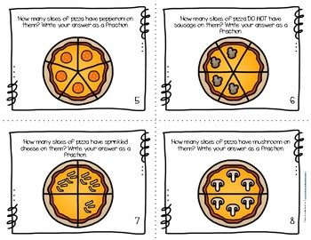 Give Me a Piece of That Pie! {A Pizza-Themed Fraction Resource}