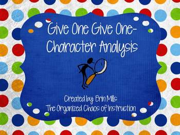 Give One Get One-Character Analysis