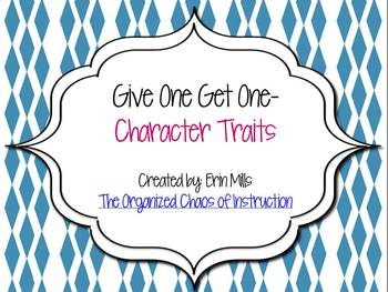 Give One Get One-Character Traits