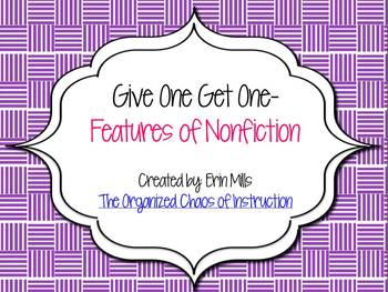 Give One Get One-Features of Nonfiction