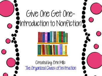 Give One Get One-Introduction to Nonfiction