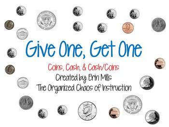 Give One, Get One-Money (Coins, Cash & Coins/Cash)