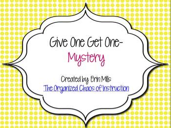 Give One Get One-Mystery