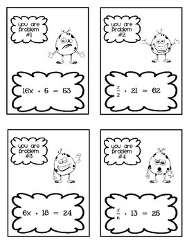 Give One, Get One: Two-step Equations- 7.EE.4a