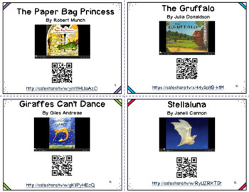 Give QR Codes a Go with Active Brain Breaks and Read Aloud Cards {Freebie}