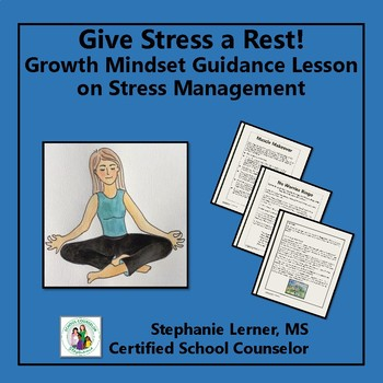 Stress Management Growth Mindset Guidance Lesson for Distance Learning