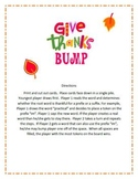 """""""Give Thanks"""" A Thanksgiving Prefix and Suffix Bump Game"""