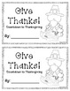 Give Thanks - A Thanksgiving Writing Countdown
