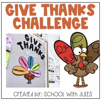 Give Thanks Challenge