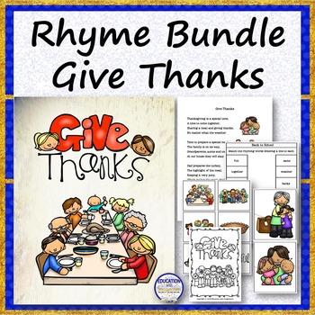 RHYME BUNDLE Give Thanks