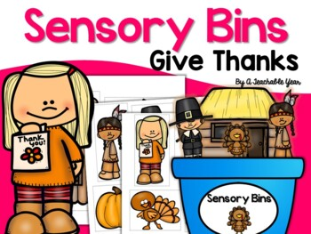 Give Thanks- Sensory Bin {Free}