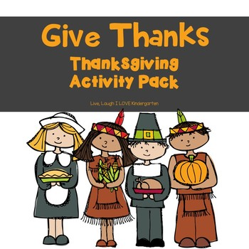 Give Thanks: Thanksgiving Pack