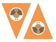 Give Thanks Thanksgiving Pennant Bunting Banner