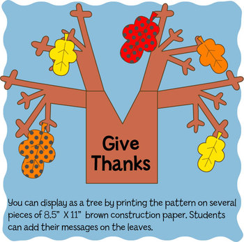 Give Thanks Tree