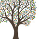 Give Thanks Tree ClipArt, Thanksgiving Tree Printable, Tha