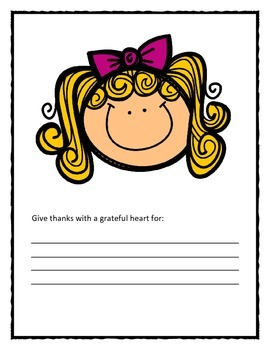 Give Thanks! worksheets