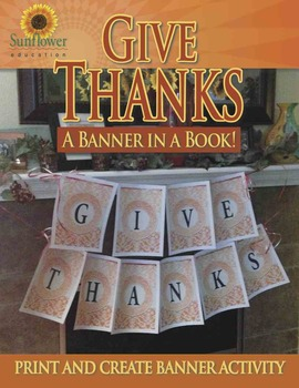 Give Thanks—A Banner in a Book!