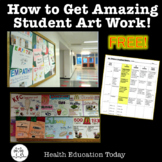 Raise the Level of Student Effort on Art Projects FREE!  F